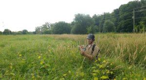 Nathanael Harper in the field